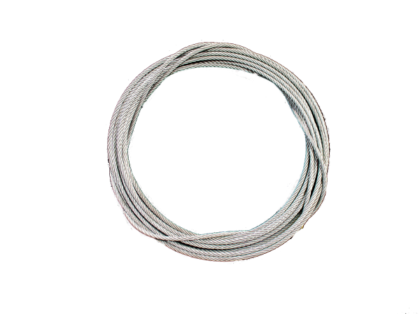 CABLE (STEEL)  5mm GALV.