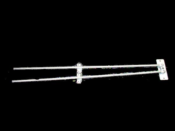 2 WAY LOCK - LONG 10mm + BRACKET