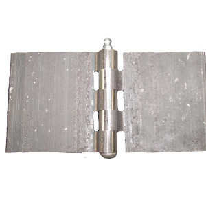 STRAIGHT HINGE 80x80 (WITH grease nipple)