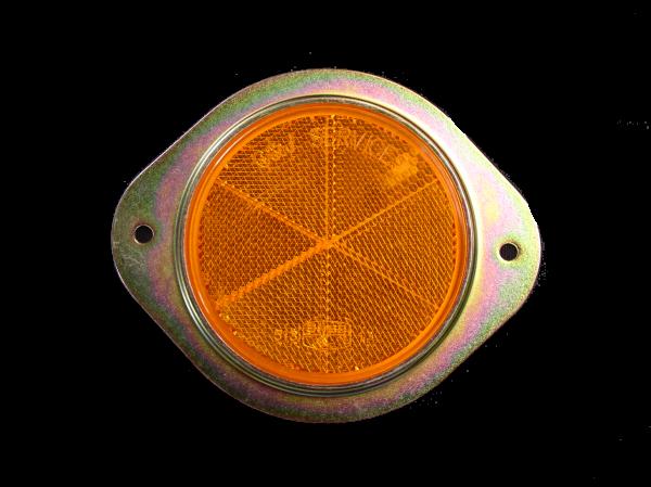 REFLEC - 75mm METAL AMBER