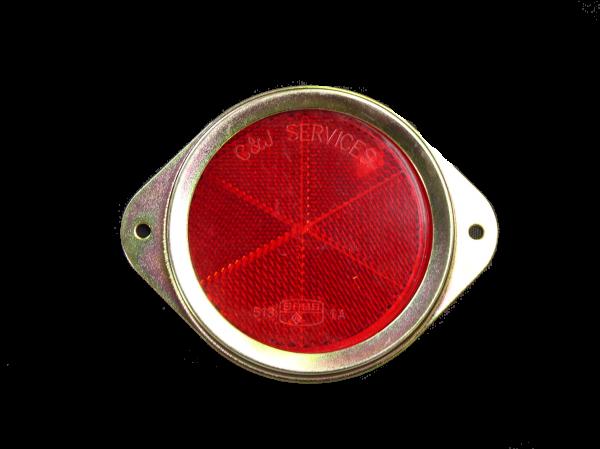 REFLEC - 75mm METAL RED