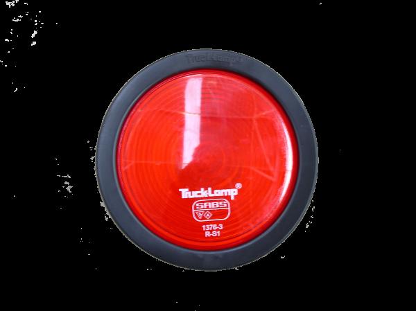 TRK LAMP SEMI-SEAL. RED