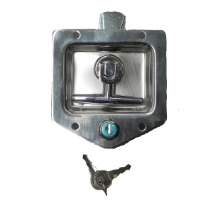 PADDLE LOCK S/S RECESS *T* + SEAL (6202)