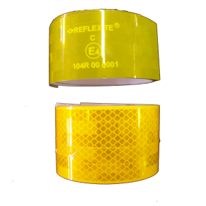 REFLEXITE TAPE - YELLOW (per METRE)