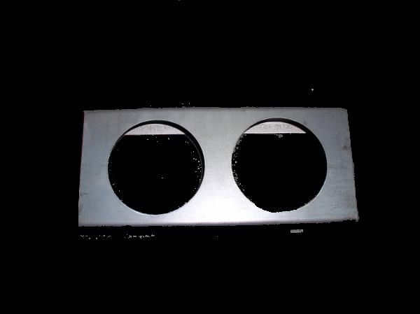 LIGHTBOX - 2 HOLE **UNPAINTED** (AL20)