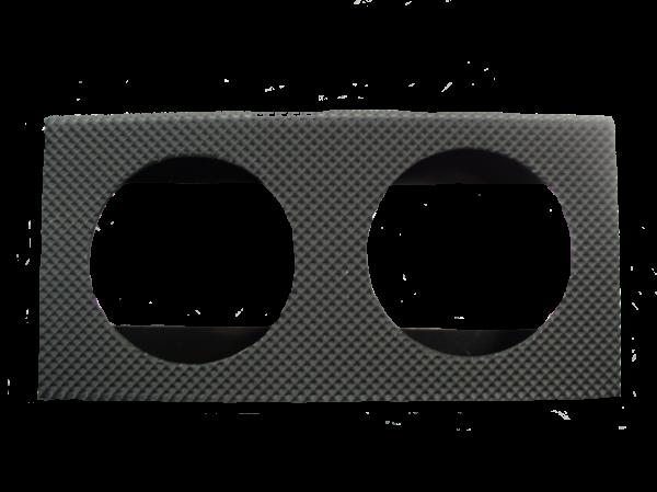 LIGHTBOX - 2 HOLE  (POLYPROP)