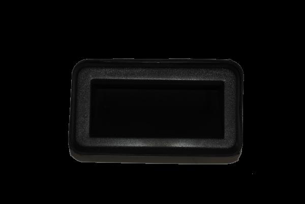COMPART. PULL HANDLE (imp) (BLK PLASTIC)