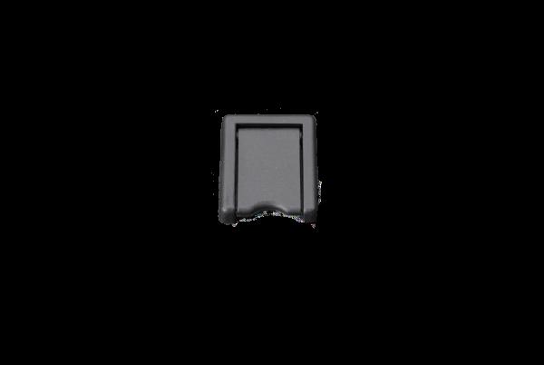 ESCUTCHEON PLATE (imp) (BLK PLASTIC)