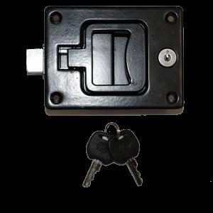 PADDLE LOCK - PULL (BLACK) (imp)