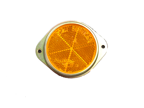 REFLEC - 50mm METAL AMBER